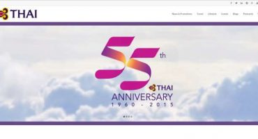 Un nuovo sito social per Thai Airways
