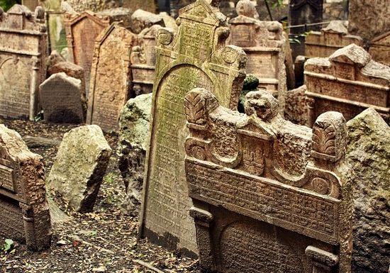 Starý Židovský Hřbitov Starý