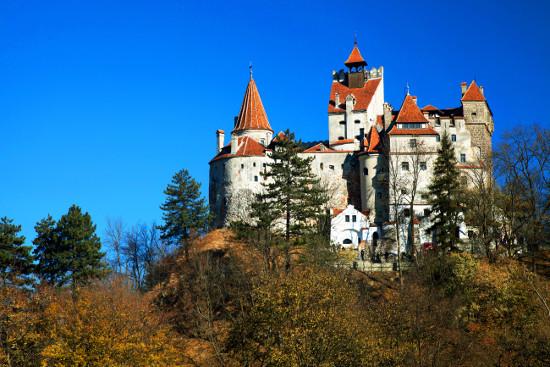 Il castello di Bran dove, secondo la leggenda, viveva il Conte Dracula