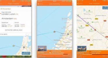 EasyJet, aggiornamenti in tempo reale con Flightradar24