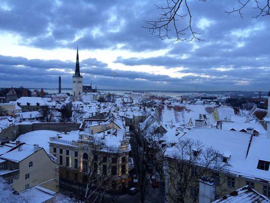 Tallinn d'inverno