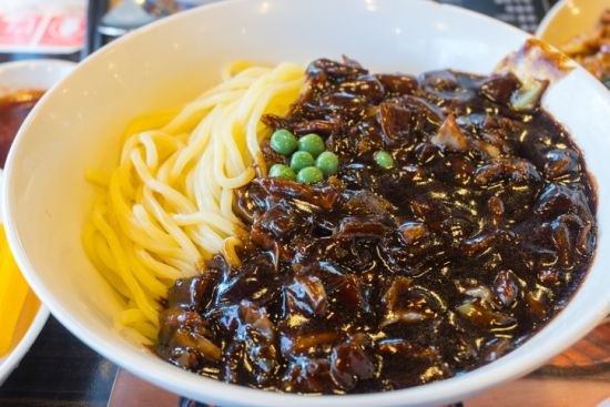 Black bean noodle - jajangmyeon