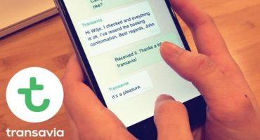 Transavia debutta su WhatsApp