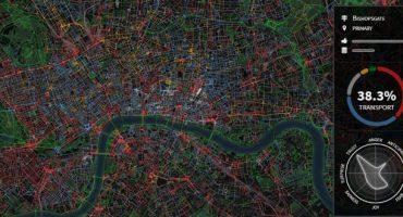 Chatty Maps: carte sonore interattive delle grandi città del mondo