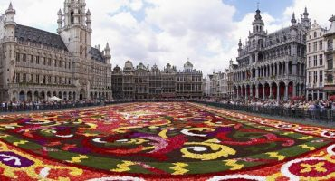 Flower Carpet: la Grand Place di Bruxelles in fiore
