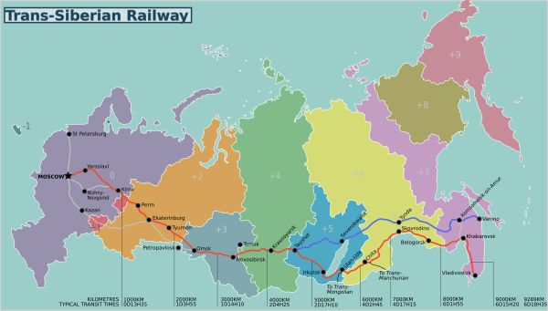 Transiberiana: itinerario classico ed itinerari alternativi