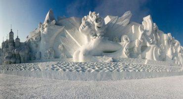 Cina: il Festival delle sculture di ghiaccio di Harbin