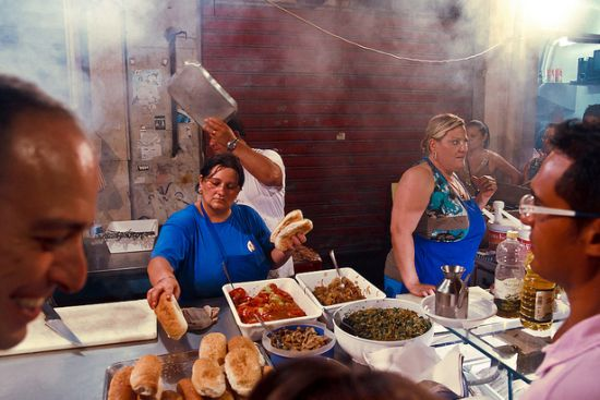 Street food a Palermo