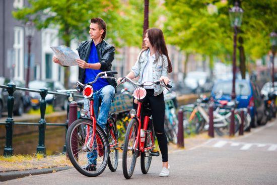 Ciclisti ad Amsterdam