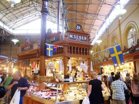 Mercato coperto di Stoccolma