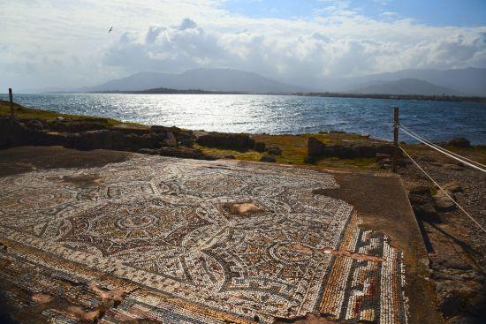 Mosaico romano, Nora