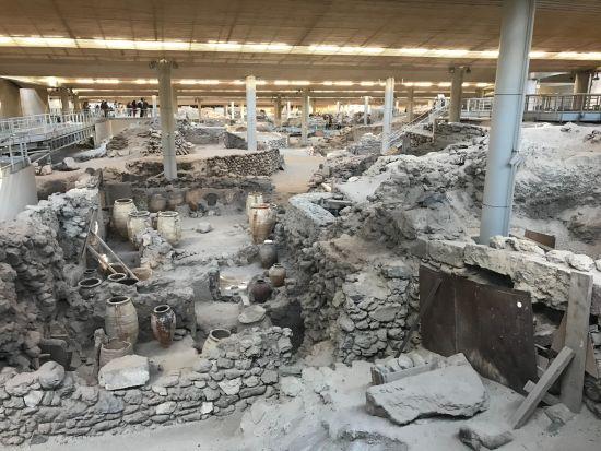 Scavi di Akrotiri